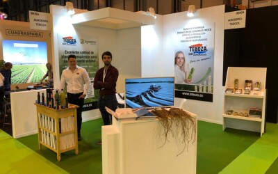 Teboza presenteert zich op de Fruit Attraction in Madrid